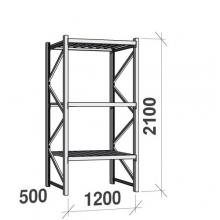 Laoriiul põhiosa 2100x1200x500 600kg/tasapind,3 tsinkplekk tasapinda