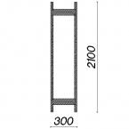 Side frame 2100x300