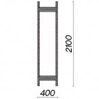 Side frame 2100x400