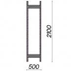Side frame 2100x500
