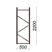 Külgraam 2200x500
