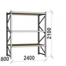 Laoriiul põhiosa 2100x2400x800 300kg/tasapind,3 PLP tasapinda