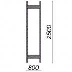 Side frame 2500x800