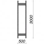 Side frame 3000x500