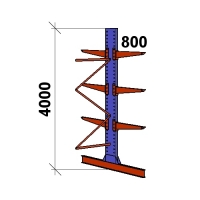 Konsoolriiul lisaosa 4000x1500x2x800,4 korrust