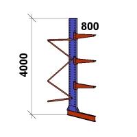 Konsoolriiul lisaosa 4000x1500x800,4 korrust