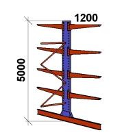 Konsoolriiul lisaosa 5000x1500x2x1200,5 korrust