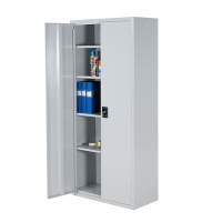 Archive cabinet 4 shelves 2000x1000x500 RAL 7035 collapsible