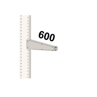 Konsool 600 mm/450 kg
