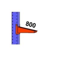 Konsool 800mm/1200kg