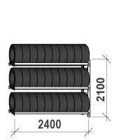 Rehviriiul, jätkuosa 2100x2400x500, 3 korrust, 300kg/tasapind