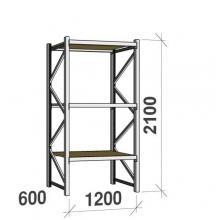 Laoriiul põhiosa 2100x1200x600 600kg/tasapind,3 PLP tasapinda