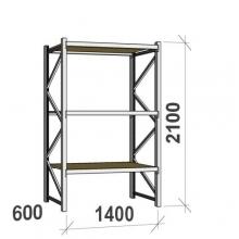 Laoriiul põhiosa 2100x1400x600 600kg/tasapind,3 PLP tasapinda