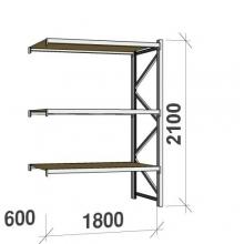 Laoriiul jätkuosa 2100x1800x600 480kg/tasapind,3 PLP tasapinda