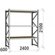 Laoriiul põhiosa 2100x2400x600 300kg/tasapind,3 PLP tasapinda