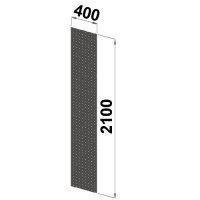 Side sheet 2100x400 perforated