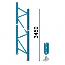 Upright frame H3450*D1050mm 90*70*2