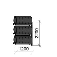 Rehviriiul lisaosa 2200x1200x500,3 korrust