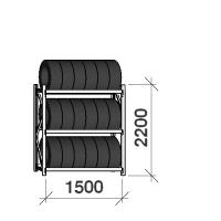 Rehviriiul põhiosa 2200x1500x500,3 korrust
