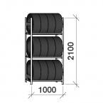 Starter bay 2100x1000x500,3 levels