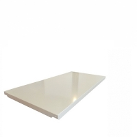 Shelf 400x1000/200kg,gray RAL 7035