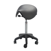 Saddle stool Dalton Octopus  Castors medium