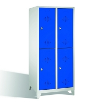 2-tier locker, 4 doors, 1850x810x500 mm