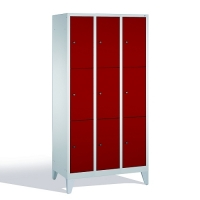 3-tier locker, 9 doors, 1850x900x500 mm