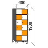 Sektsioonkapp, 12 ust, 1900x600x545 mm