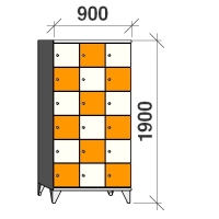 Sektsioonkapp, 18 ust, 1900x900x545 mm