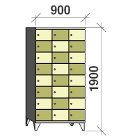 Sektsioonkapp, 24 ust, 1900x900x545 mm