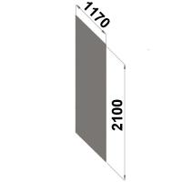 Back sheet panel 2100x1170 mm