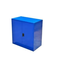 Töökojakapp 2 riiuliga 900x800x400 kokkupandav, sinine