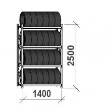 Rehviriiul, põhiosa 2500x1400x500, 4 korrust, 600kg/tasapind