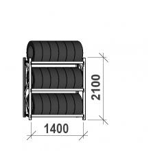 Rehviriiul, põhiosa 2100x1400x500, 3 korrust, 600kg/tasapind