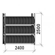 Starter Bay 2500x2400x500, 3 levels