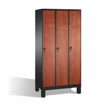 3-door locker, 1850x900x500, MDF doors