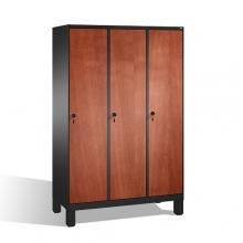 3-door locker, 1850x1200x500, MDF doors