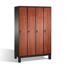 4-door locker, 1850x1190x500, MDF doors