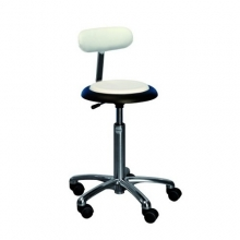 Global CL Micro stool with backrest