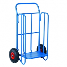 Distribution trolley, blue, 710x1060, 150kg