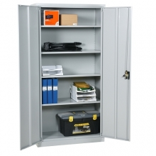 Arhiivikapp 4 riiuliga 1800x900x400, hall, kokkupandav
