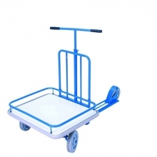 Platform scooter, blue 690x585mm, 150kg
