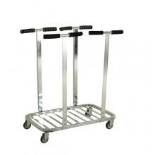 Sack Trolley Double 770x470x900 mm, 75kg