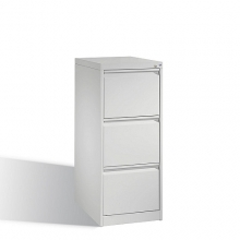 C2000 Acurado filing cabinet, 3 drawers, 1045x433x590mm, RAL7035