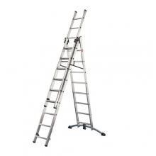 Kombineeritud redel 2x9+8 astet