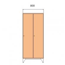 Koolikapp 1590x800x545