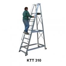 Treppredel 10-astmeline, platvormi kõrgus 2520 mm