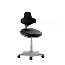 Lab Chair black with castors