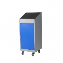 Mobile tool cabinet 500x500x1100/1270